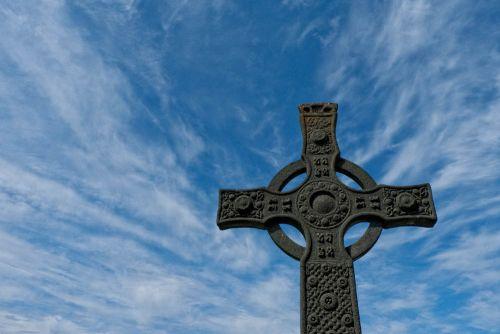 Amazing Celtic Cross Iona Scotland