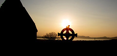 Celtic Cross evening photo  Kerry