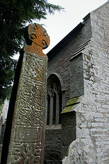 Celtic High Cross - Nevern Wales