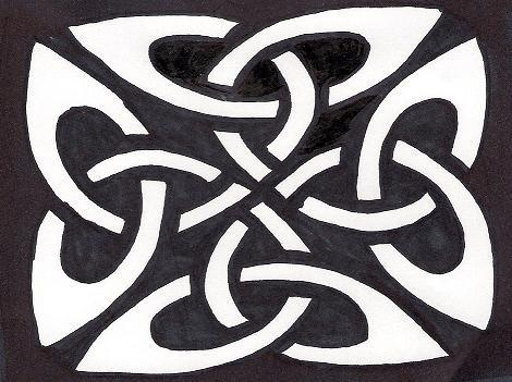 Free Celtic Knot Gallery  Pattern 3