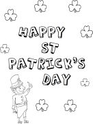 leprechauns with shamrocks and wish