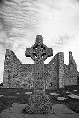 Celtic Irish High Cross  Clonmacnoise