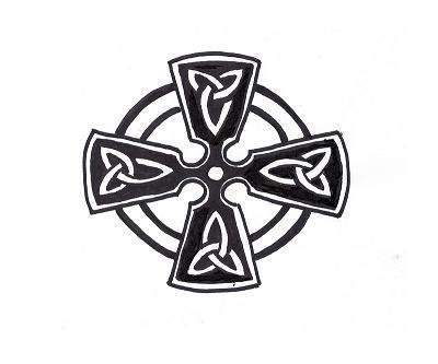 Free Celtic Knot Gallery  Cross Pattern