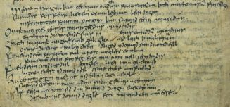 Irish Language - old  writing