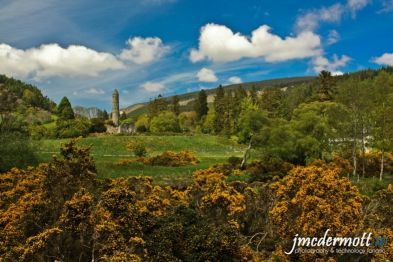 Irish round towers Kilkenny