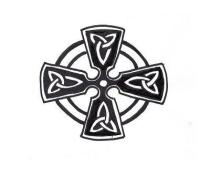 Free Celtic Knot Gallery Cross Pattern