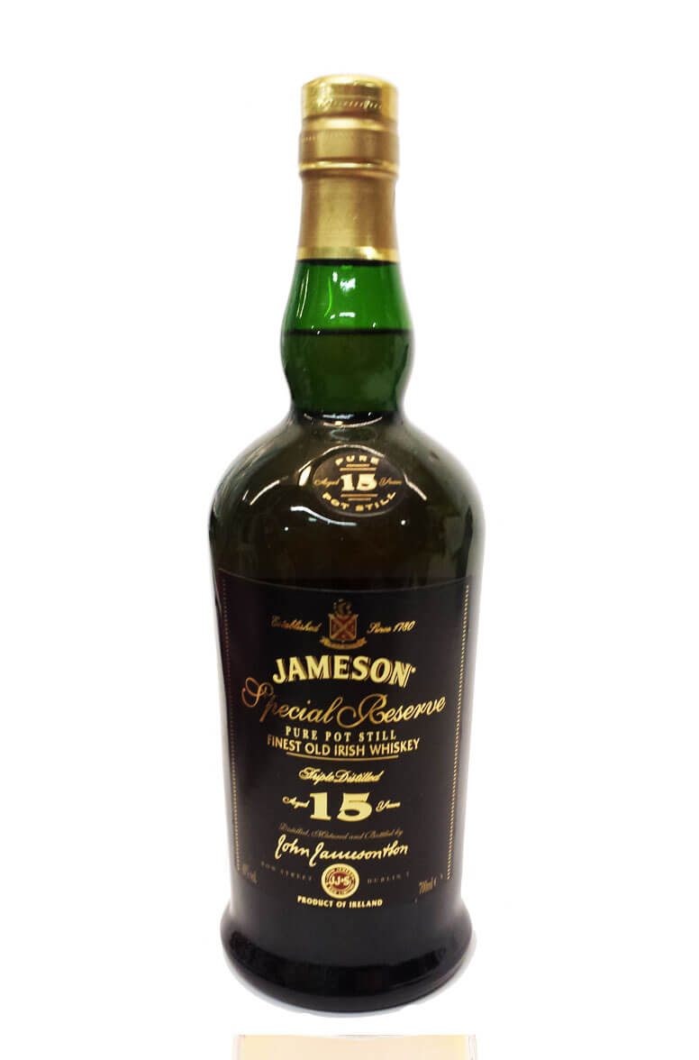 Best Irish Whiskeys Jameson 15 year old