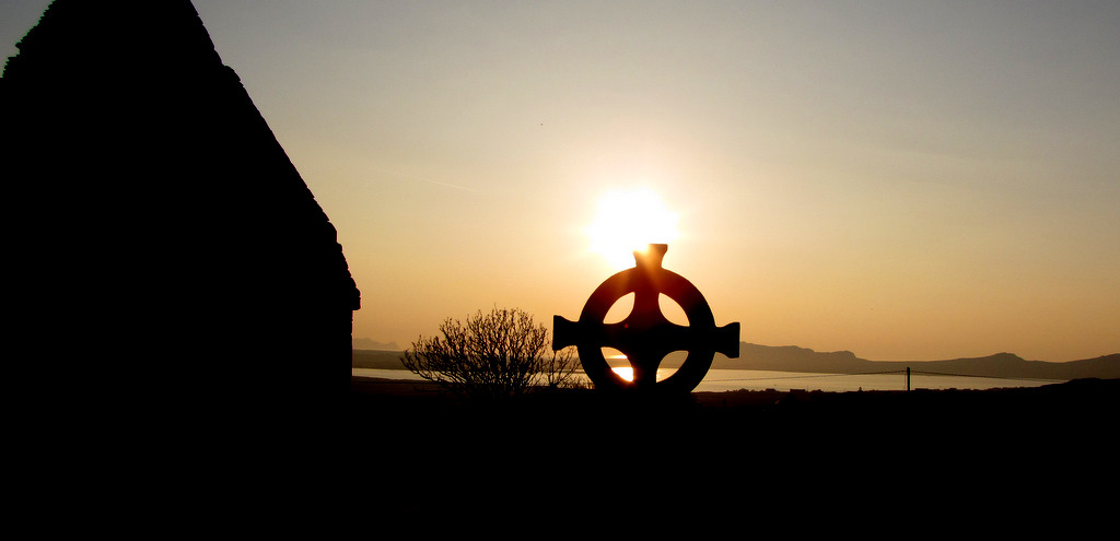 Celtic Cross evening photo Kerry