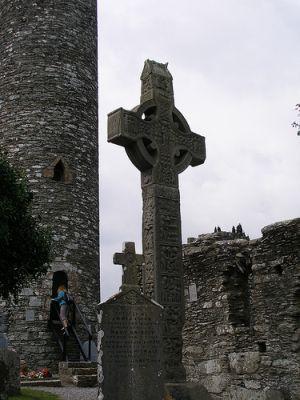 Celtic Irish High Cross at Monasterboice