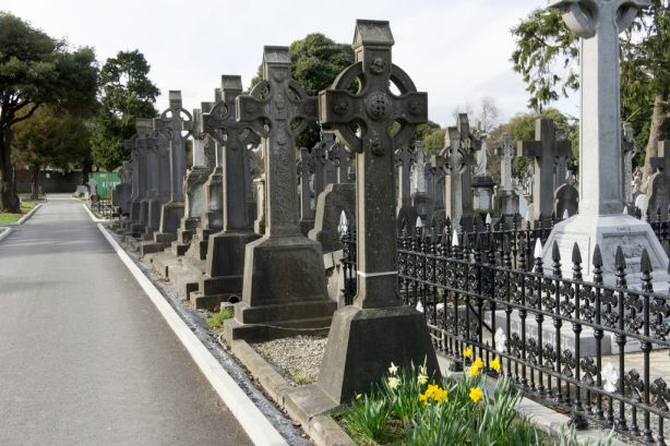 Celtic Crosses Glasnevin Cemetery