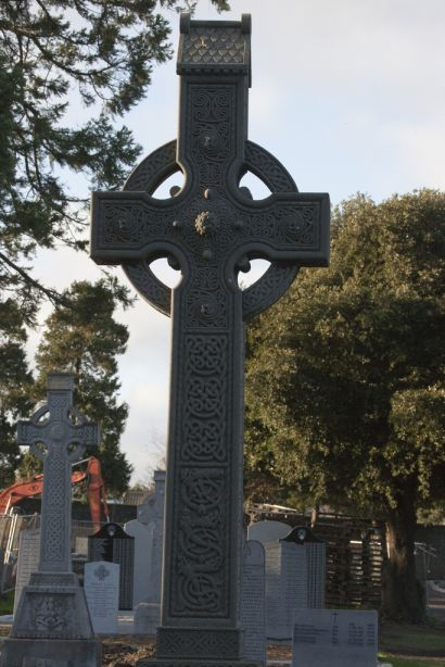 Beautiful Celtic Pattern on this Cross