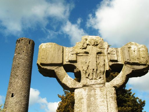 Celtic Cross Irish High Cross, Kells