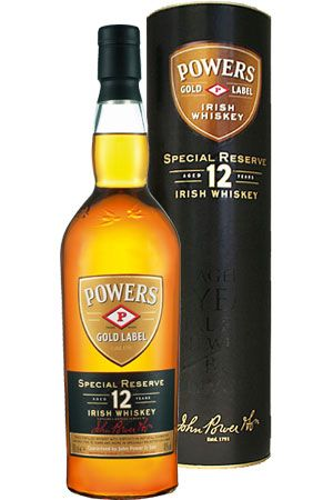 Powers 12 year Irish whiskey