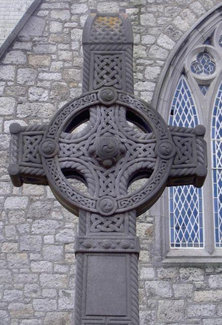 Celtic Knot art Celtic Cross