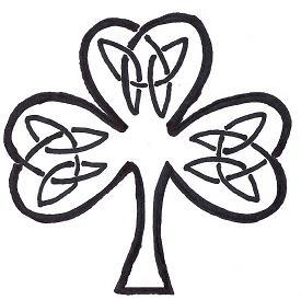 Free Celtic Knot Shamrock Gallery Patterns