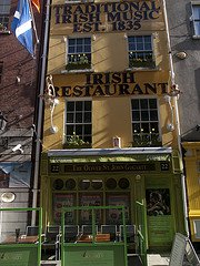 Traditional Irish pub