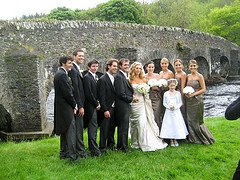 Traditional Irish Wedding Photo
