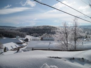 Moving home to Ireland : Leaving snowy New Hampshire behind